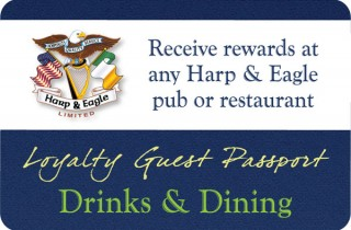 Harp & Eagle Loyalty Card