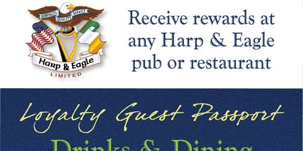 Harp & Eagle Loyalty Card